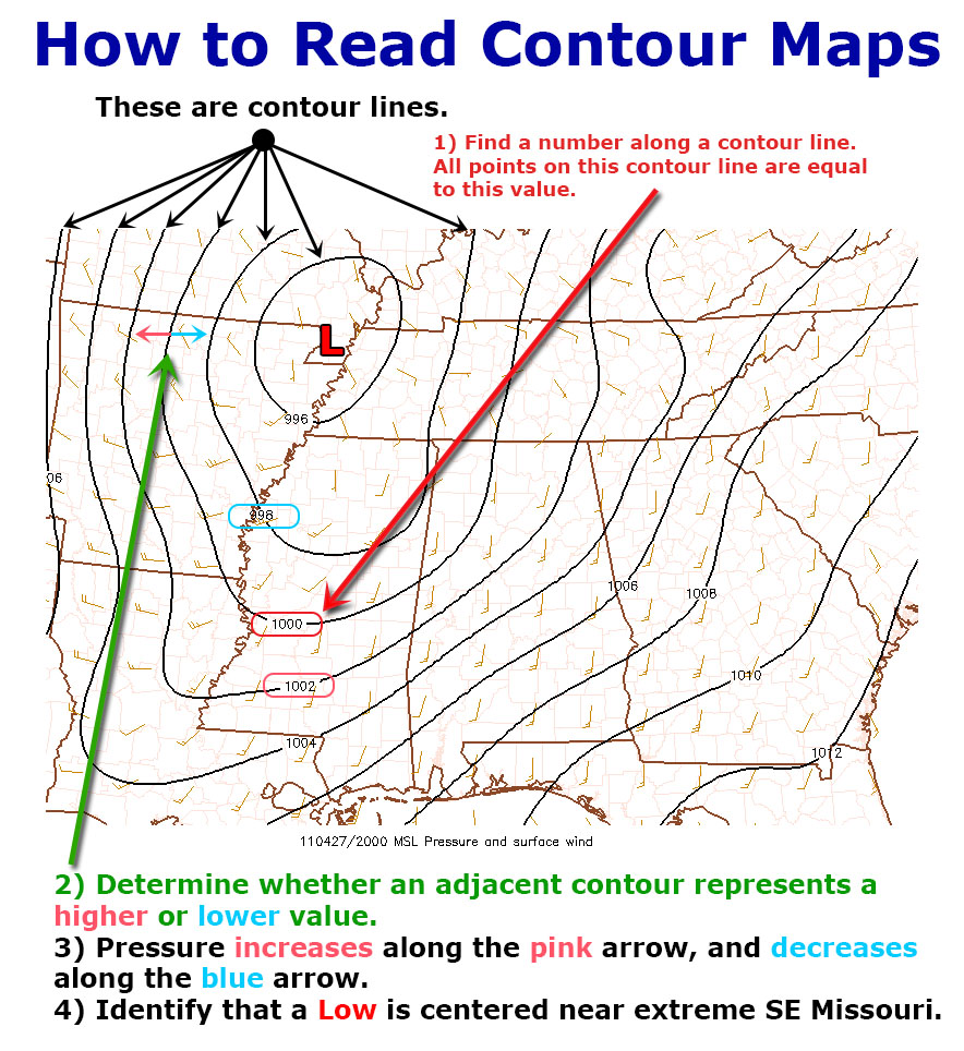 Contour Map Example