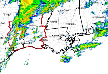 SPC RADAR & Tornado Watch