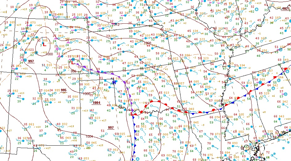 current surface map detailed