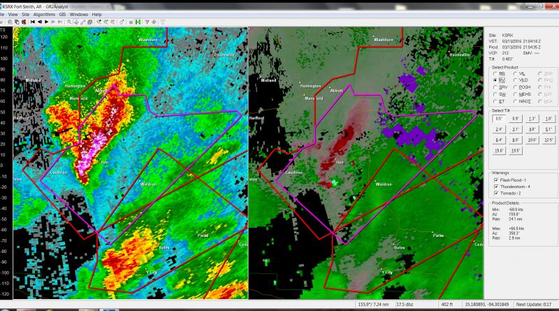 Hon Arkansas tornado